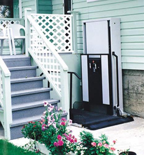Interstate elevator corp wheelchair lifts for Wheelchair accessible house plans with elevator